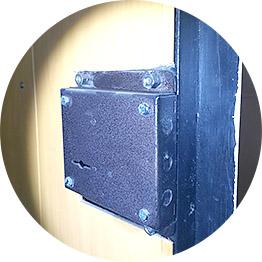 Замена замков в железной двери
