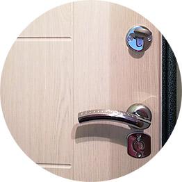 Ремонт ручек, установленных на входных дверях