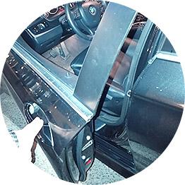 Открытие замка автомобиля