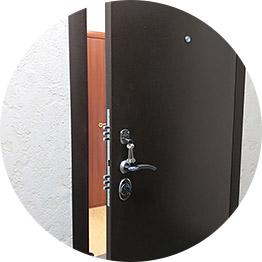 Ремонт личинки замка железной двери
