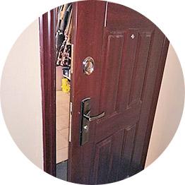 Вскрытие металлических дверей
