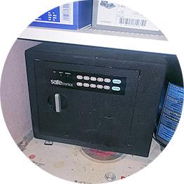 Вскрытие электронных сейфов