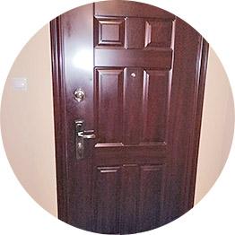 Открытие входных дверей без ключа